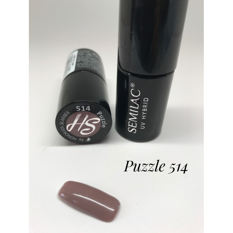 514 UV Semilac Nailstagram Puzzle 7ml