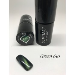 610 UV Hybrid Semilac Cat Eye Green 7ml