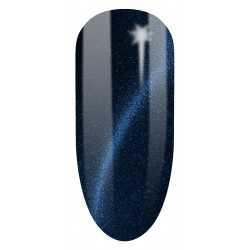 613 UV  Lakier hybrydowy UV Semilac Cat Eye Blue 7ml