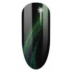 634 UV Lakier hybrydowy Semilac Cat Eye 3D Green 7ml