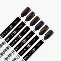 636 UV Lakier hybrydowy Semilac Cat Eye 3D Turquoise 7ml