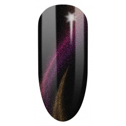 637 UV Hybrid Semilac Cat Eye 3D Violet  7ml