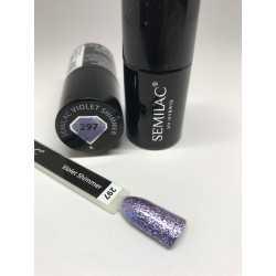297 UV Lakier hybrydowy Semilac Violet Shimmer 7ml