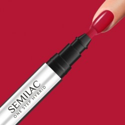 S550 Semilac One Step Hybrid Pure Red 3 ml