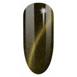 612 UV Lakier hybrydowy Semilac Cat Eye Gold 7ml