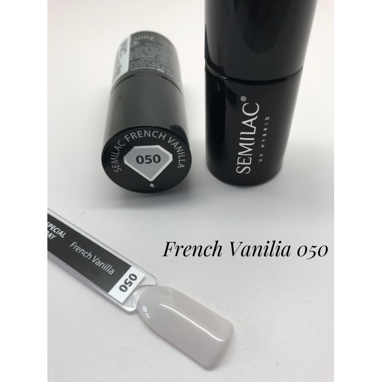 050 UV Hybrid Semilac French Vanilla 7ml