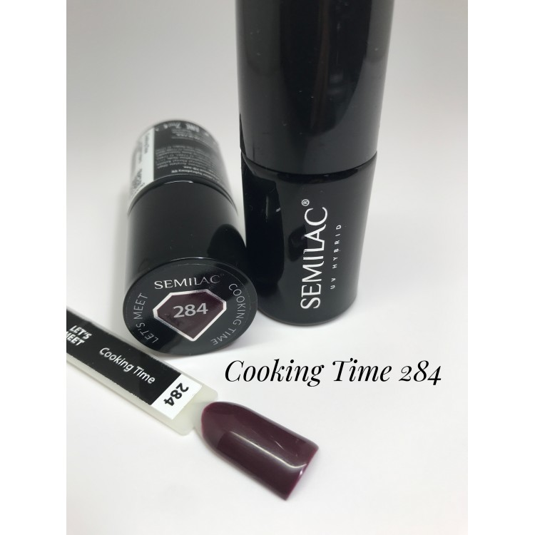 284 UV Semilac LET'S MEET Cooking Time 7ml