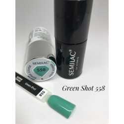 558 UV Semilac Super Cover Green Shot  7ml