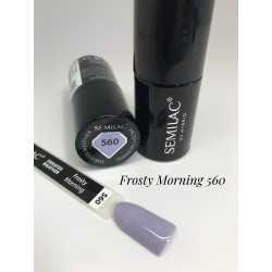 560 UV Hybrid Semilac Frosty morning  7ml