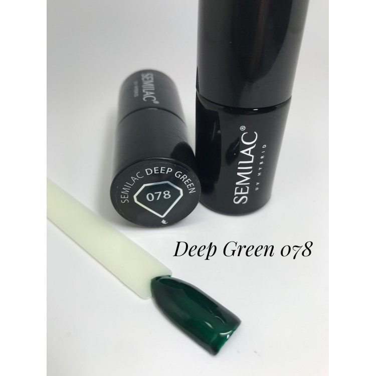 078 UV Hybrid Semilac Deep Green 7ml