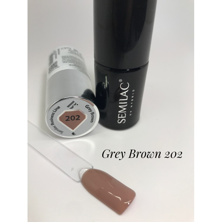 202 UV Semilac Business Line Grey Brown 7ml