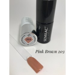 203 UV Semilac Business Line Pink Brown 7ml