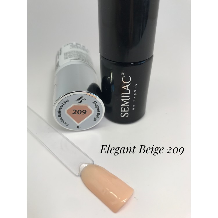 209 UV Semilac Business Line Elegant Beige 7ml