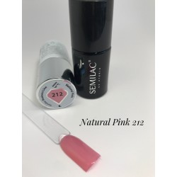 212 UV Semilac Business Line Natural Pink  7ml