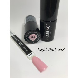 228 UV Semilac ALL IN MY HANDS Light Pink  7ml