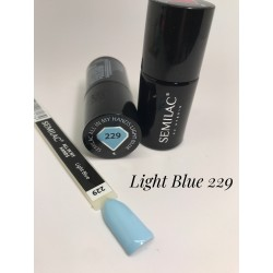 229 UV Semilac ALL IN MY HANDS Light Blue 7ml