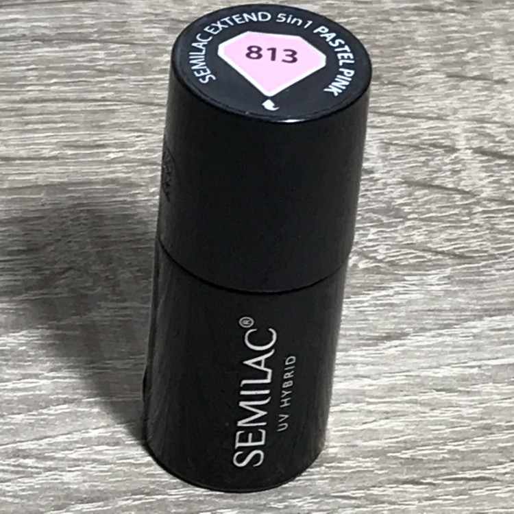 813 Semilac Extend 5in1 Pastel Pink  7ml