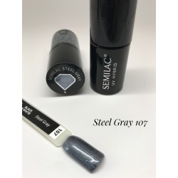 107 UV Hybrid Semilac Steel Gray 7ml