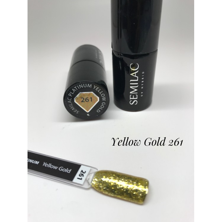 264 Semilac color chart Pastells Lemon