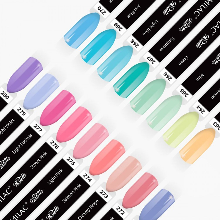 Semilac color chart Tropical Drinks