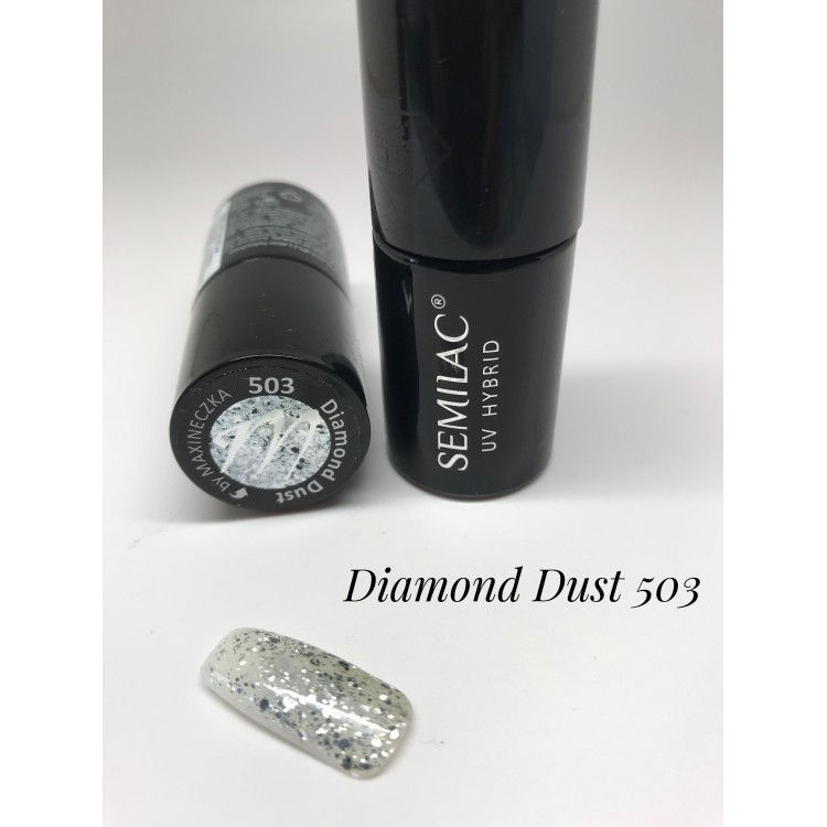 503 UV Semilac Purple Mania Diamond Dust 7ml